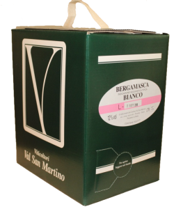 Bag in Box Bianca della Bergamasca